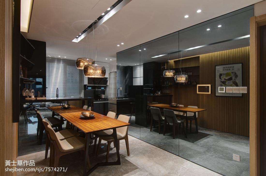 精选面积87平现代二居餐厅装修效果图