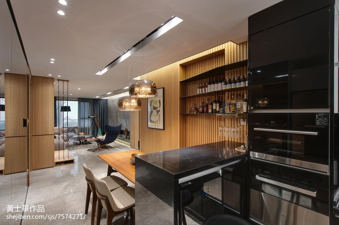 大小89平现代二居餐厅装饰图片