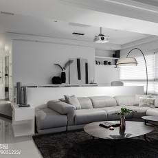 精美面积115平现代四居客厅实景图片大全