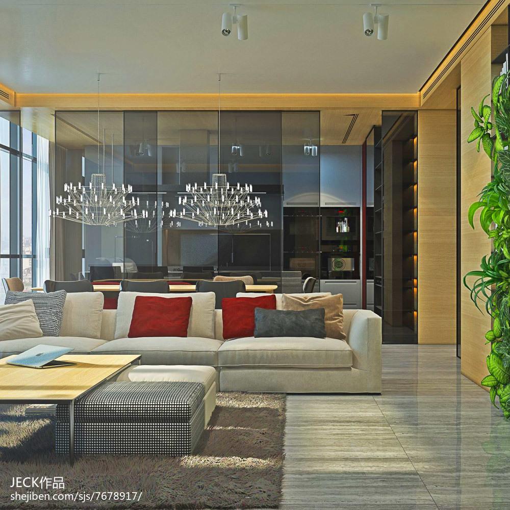 精美面积83平公寓餐厅欧式欣赏图片大全
