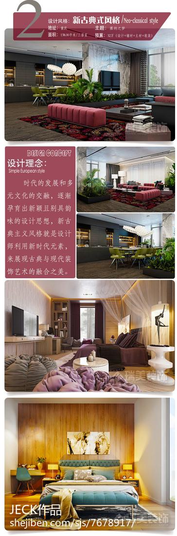英伦欧式别墅厨房设计效果图片