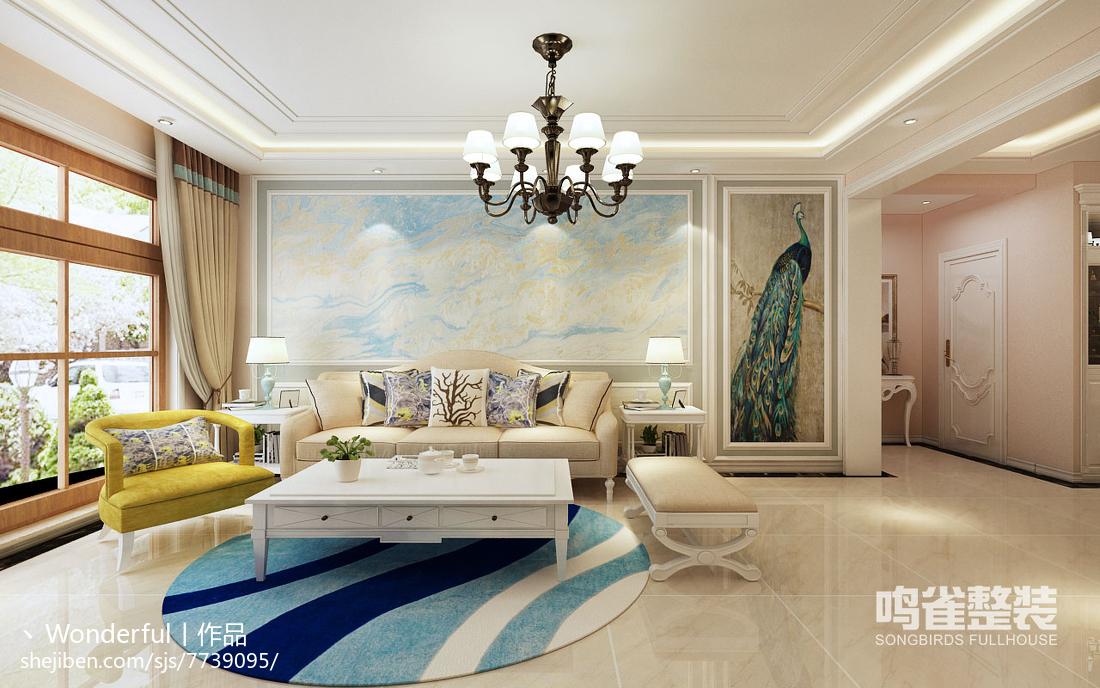 现代风格窗帘设计