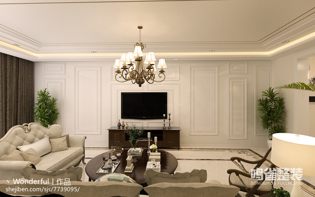 现代风格卧室室内装饰图片