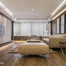 2018140平米四居客厅现代效果图片