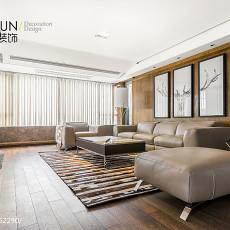 精选面积133平现代四居客厅装饰图片欣赏