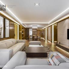 2018精选136平米四居客厅现代欣赏图片