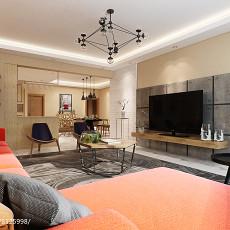 2018精选面积132平四居客厅装修欣赏图