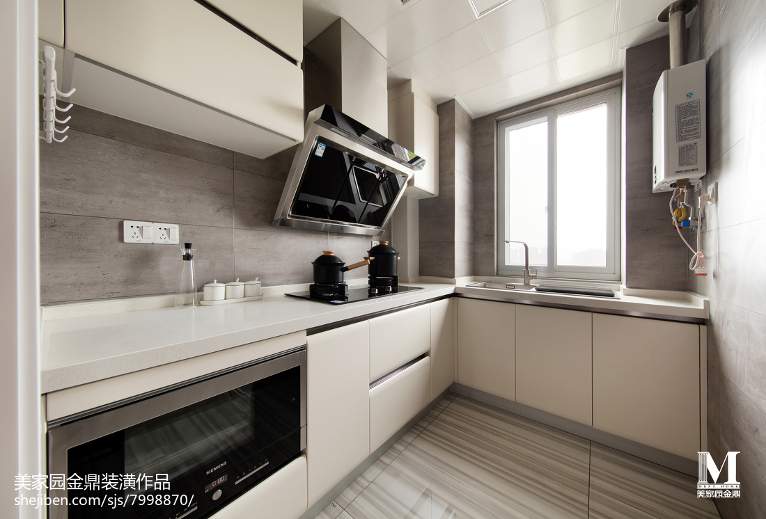 2018精选109平米三居厨房北欧效果图片大全