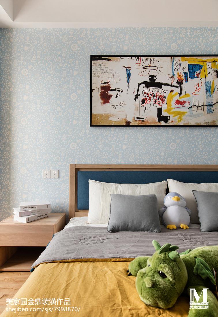 精选北欧三居卧室实景图片欣赏
