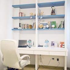 小户型书房书柜装修效果图
