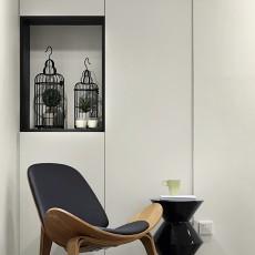 面积79平现代二居客厅装修效果图片大全