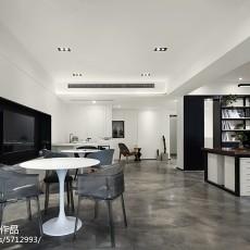 热门82平方二居客厅现代装修欣赏图片大全