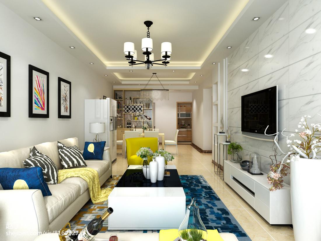 欧式古典设计别墅厨房装修效果图片
