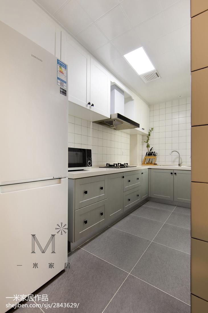 2018北欧三居厨房装修设计效果图片大全
