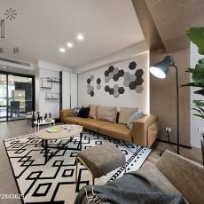 104平米三居客厅现代效果图片欣赏