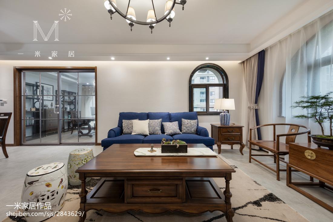 精选135平米四居客厅混搭装修实景图片欣赏