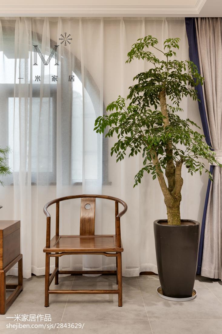 精选面积140平混搭四居客厅装修设计效果图片