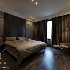 2018119平米四居卧室现代效果图片