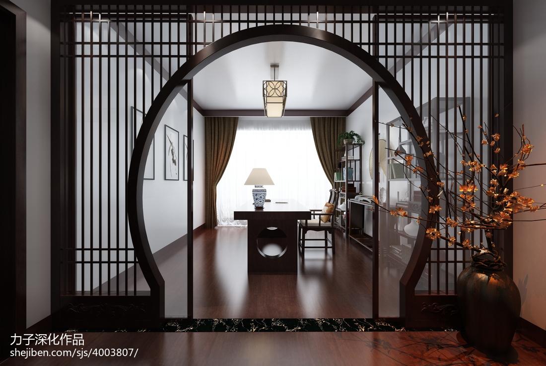 新古典风格客厅创意隔断装修