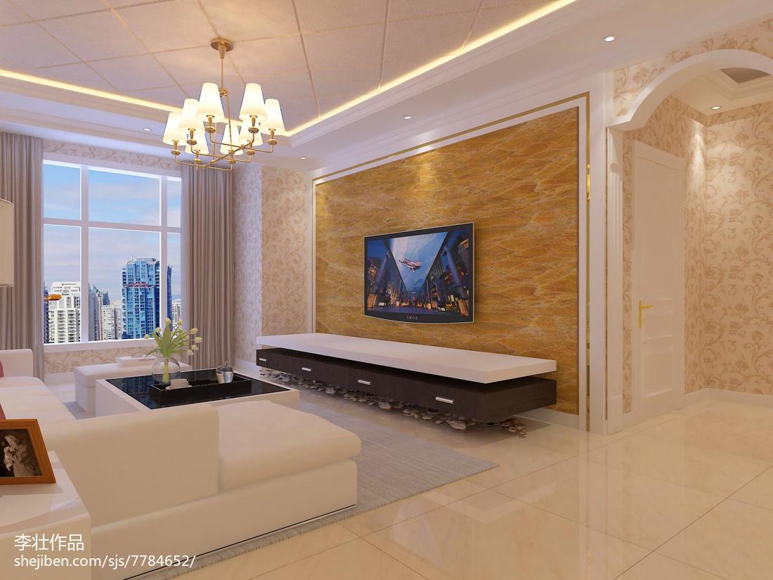 美式风格三居室装修设计