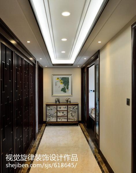 【视觉旋律】230平米现代中式住宅_2868924