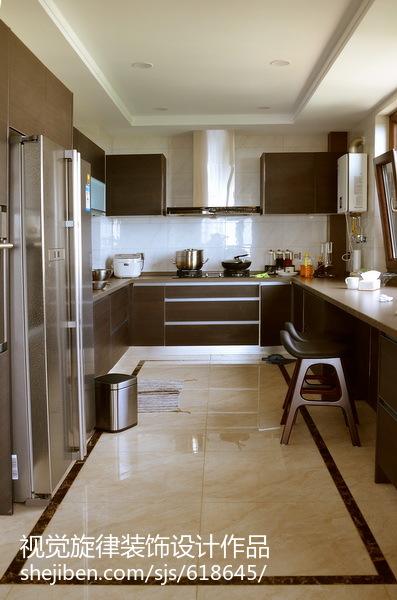 【视觉旋律】230平米现代中式住宅_2868933