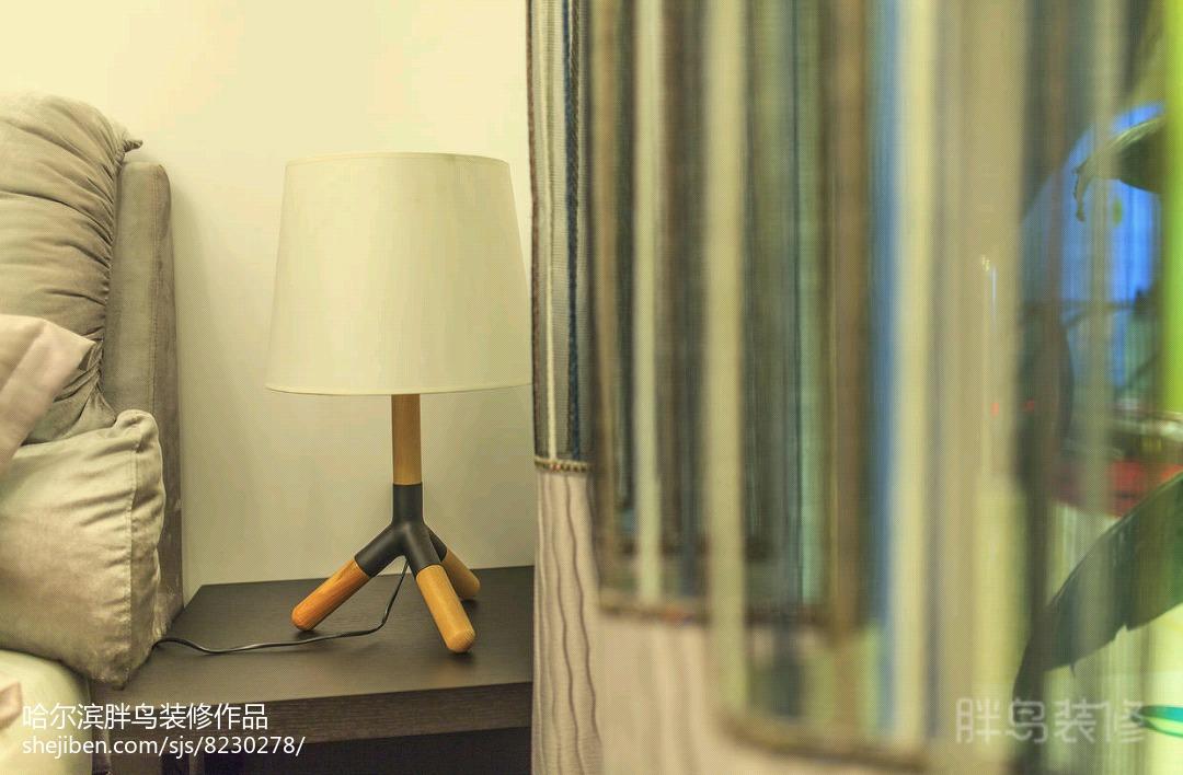 东南亚酒店装饰卧室设计效果图片
