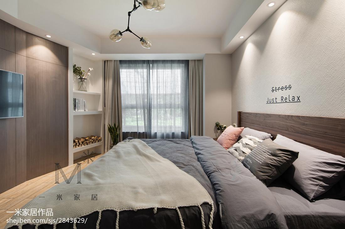 220m²混搭复式卧室设计效果图