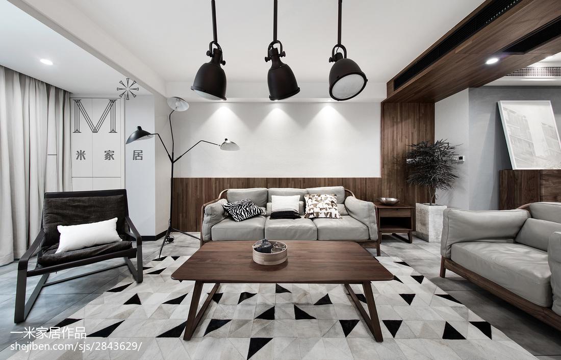 精选混搭3室客厅装饰图片欣赏95平