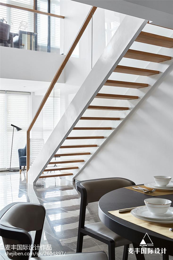 現代風復式樓梯設計圖