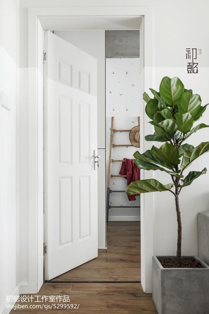 热门87平米北欧小户型客厅装修设计效果图片大全