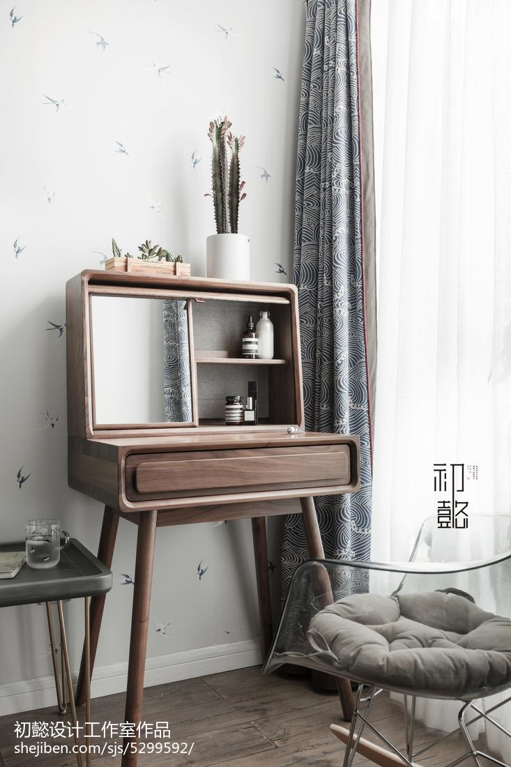 精美72平米北欧小户型卧室装饰图