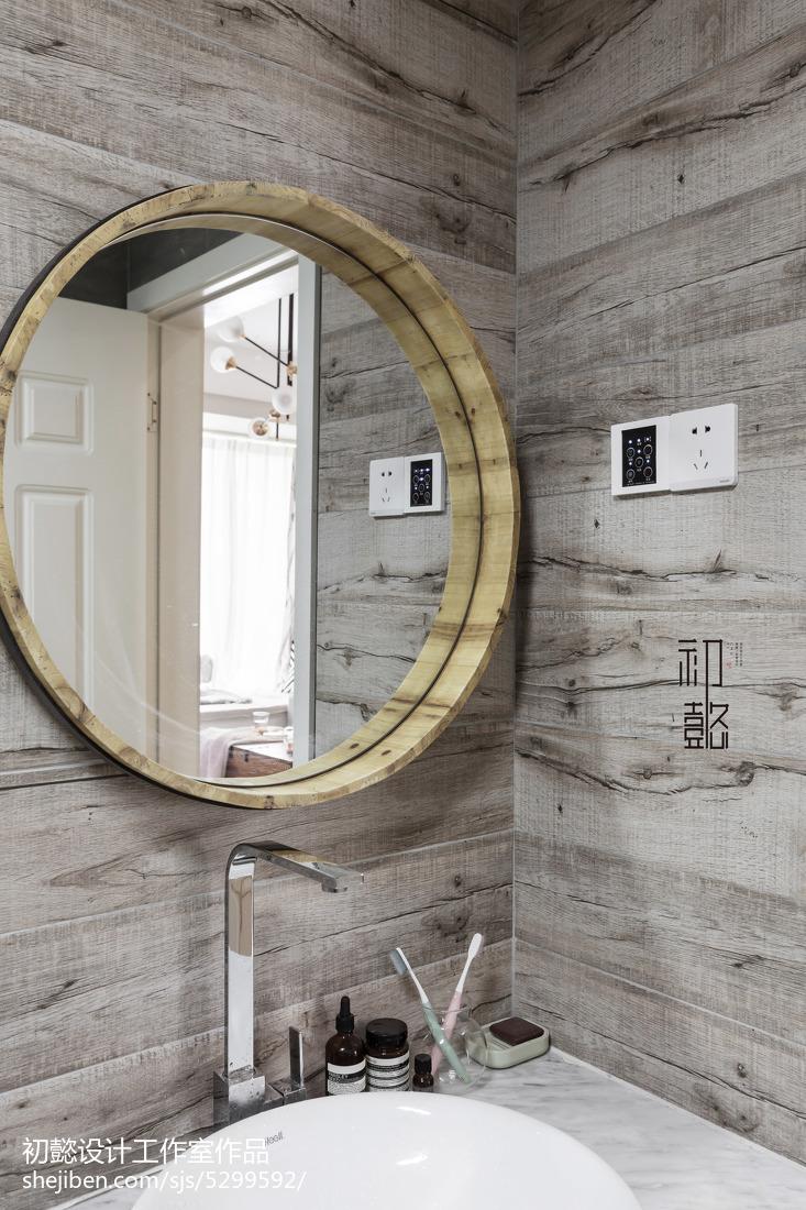北欧小户型卫生间装修设计效果图片大全