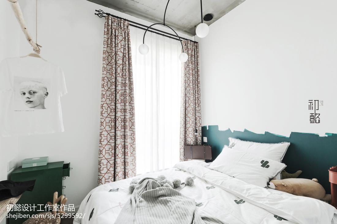 精选北欧小户型卧室装修欣赏图片
