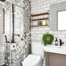 2018精选面积73平北欧二居卫生间装修欣赏图片