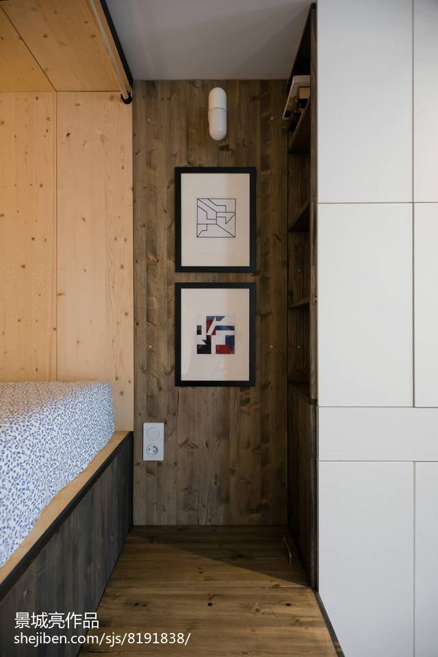 90平米简约小户型卧室装修效果图片