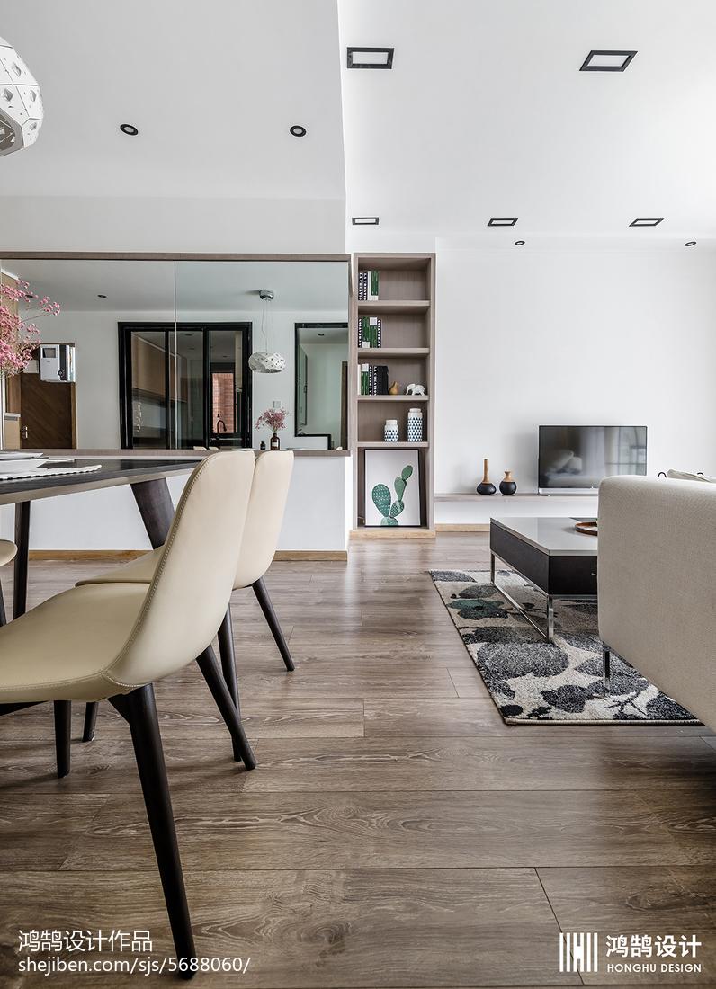 精选面积90平北欧二居餐厅装修设计效果图