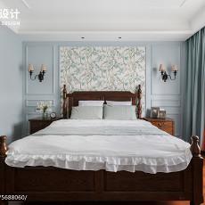 195㎡美式卧室设计图