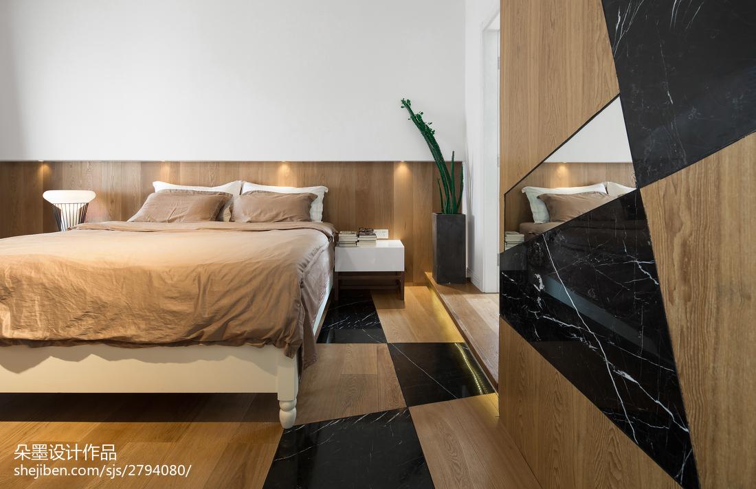 面积98平混搭三居卧室效果图片欣赏