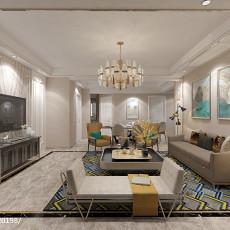 精选面积113平现代四居客厅装修设计效果图片