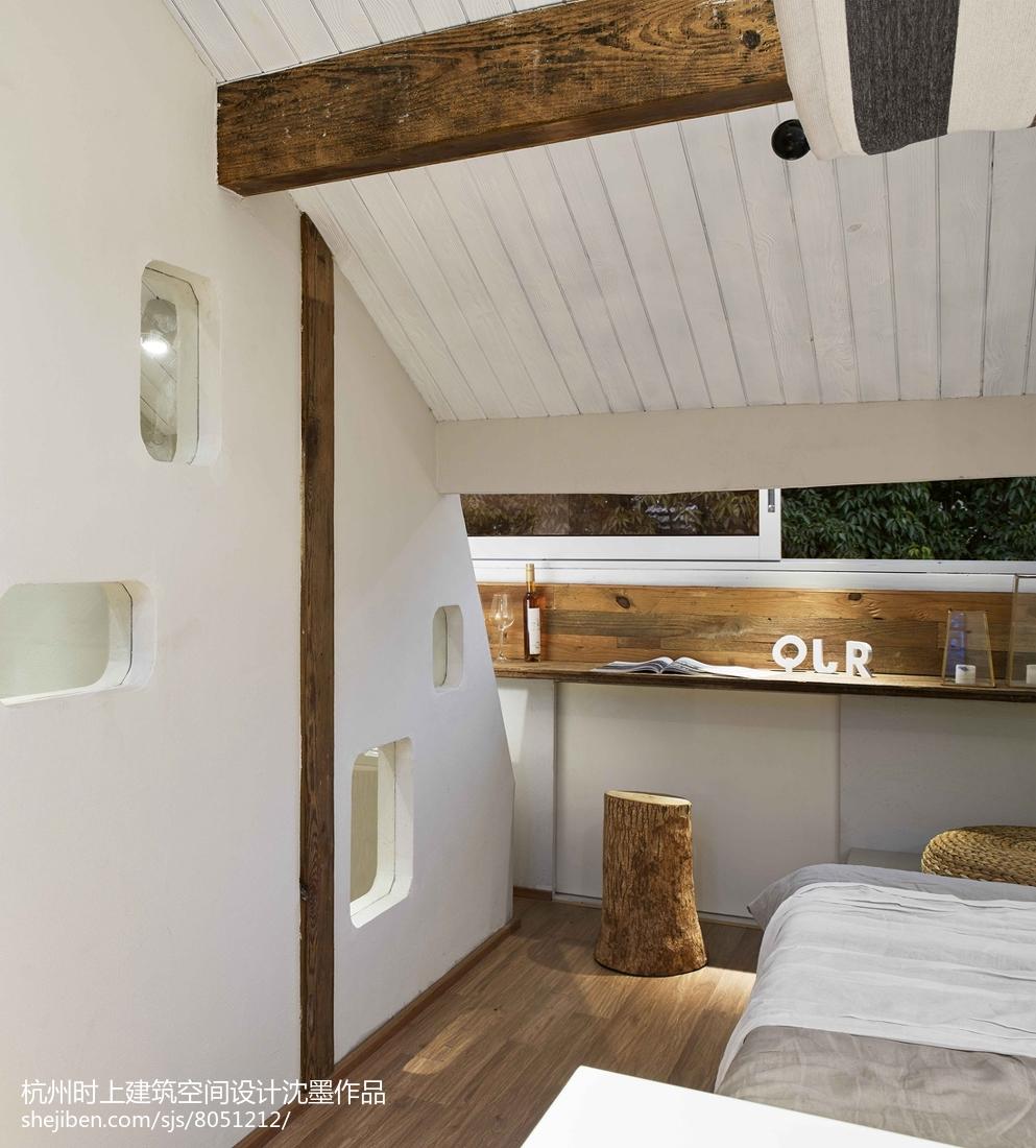 精美面积117平复式卧室简约装饰图