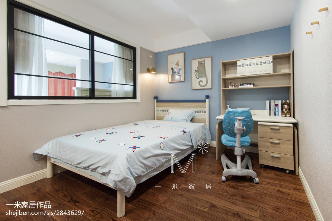 精选美式三居儿童房装修欣赏图片大全