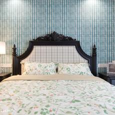 质朴79平美式三居卧室装修效果图