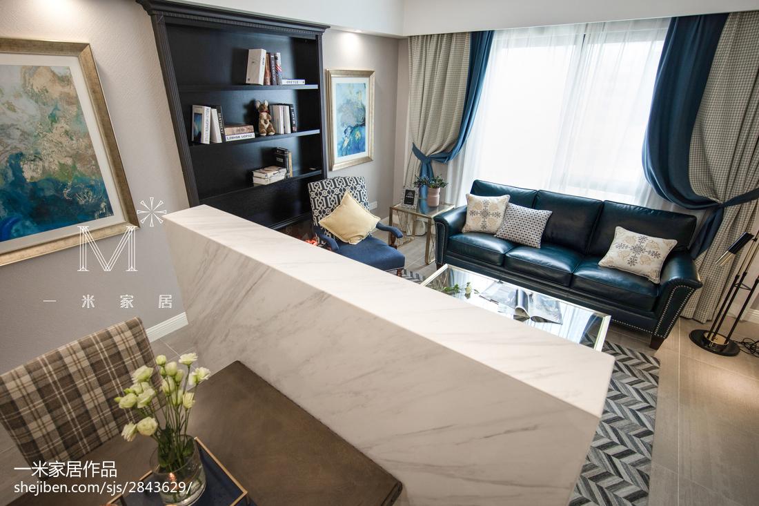 热门102平方三居客厅美式装修效果图