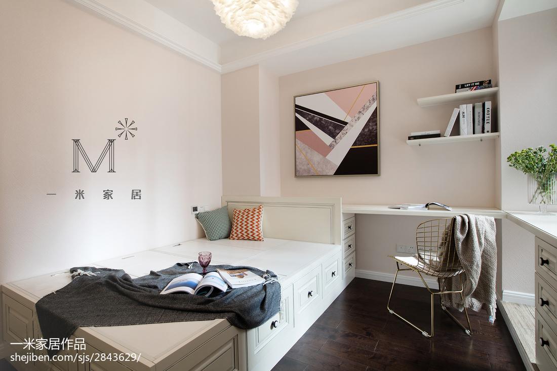 优美102平美式三居装修图片
