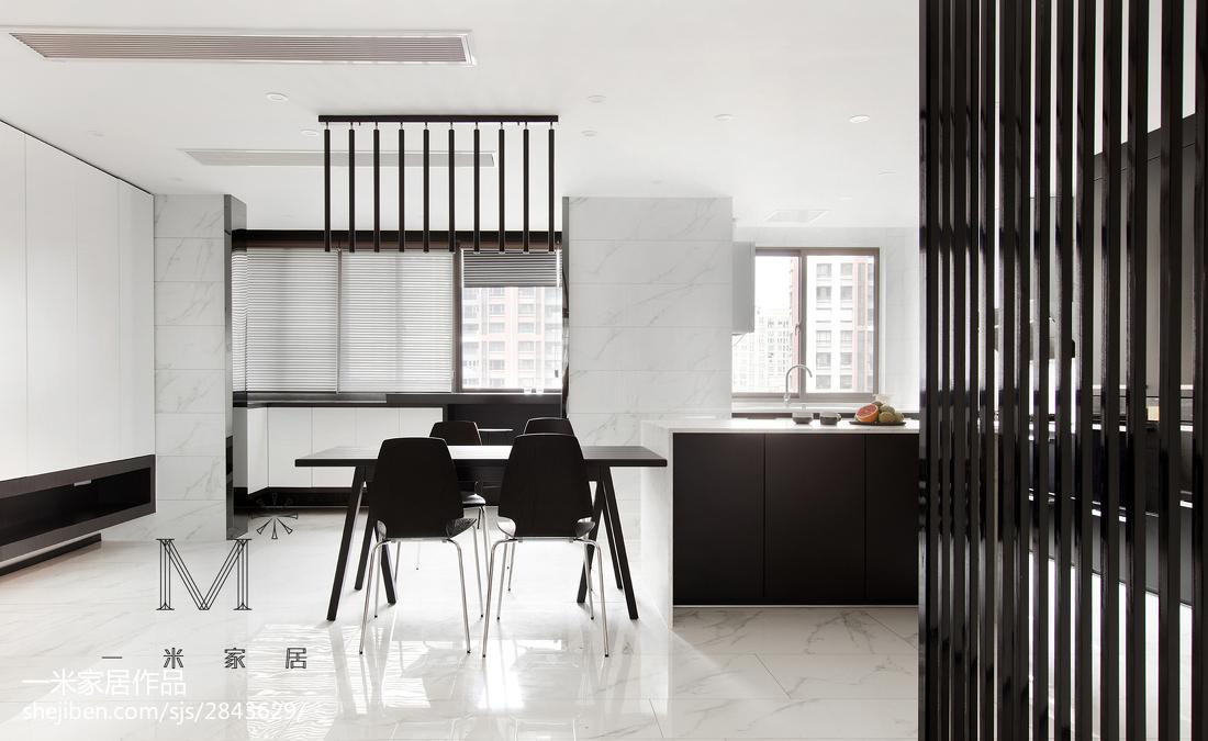 201893平米三居餐厅简约装修效果图片欣赏