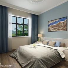 现代简约主卧室装修效果图片大全