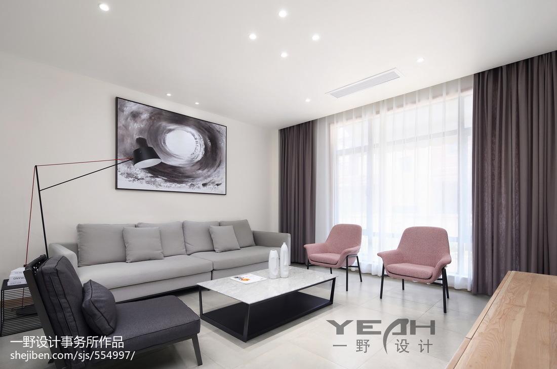 精选面积126平别墅客厅现代装修图片