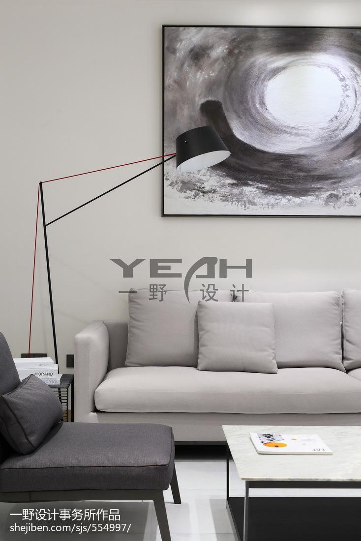 2018面积139平别墅客厅现代装饰图片大全