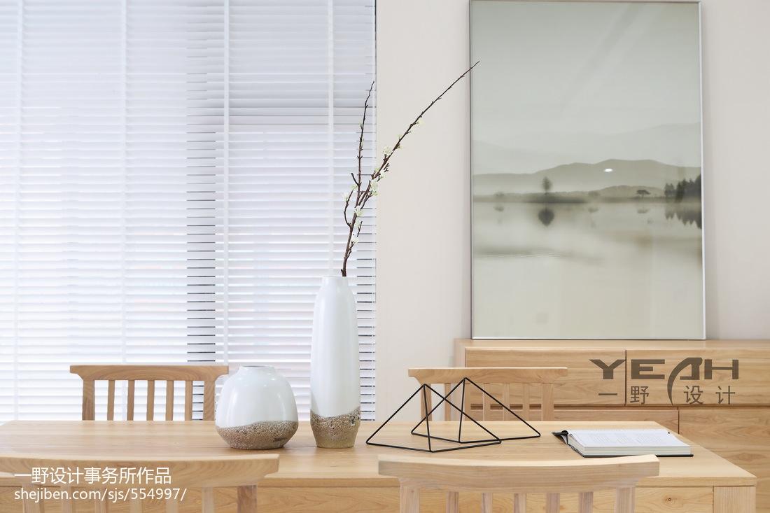 精选大小124平别墅餐厅现代装饰图